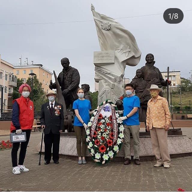 Сегодня в Улан-Удэ прошла Акция «Память сердца».